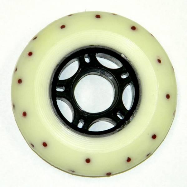 Sparkling Wheels 85A White