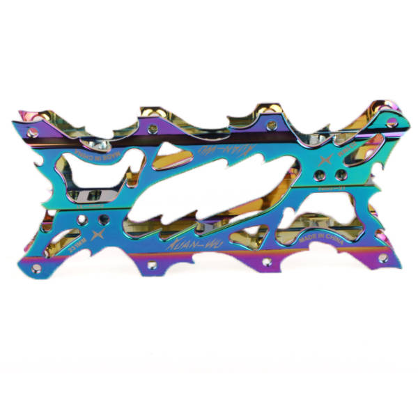 XuanWu Fierce X1 Rainbow Frame one on another