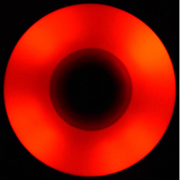 Flying Eagle Red LED Wheel 88A in the dark