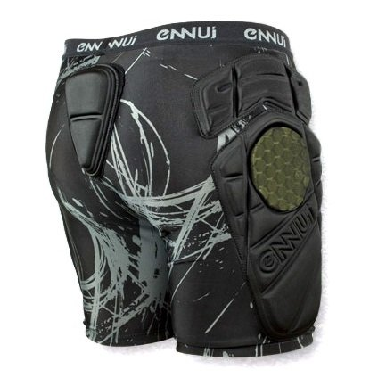 ENNUI City Crash Shorts back