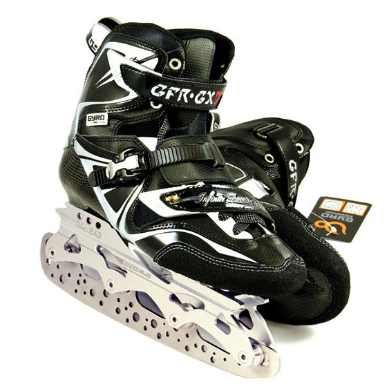 Hockey Ice Blades on GFR-GX7 skates