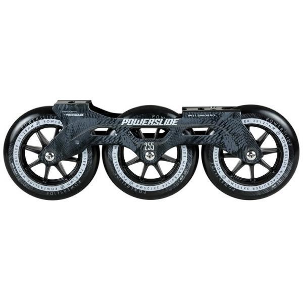 Powerslide Megacruiser 125mm Black Frame Set 165 mount