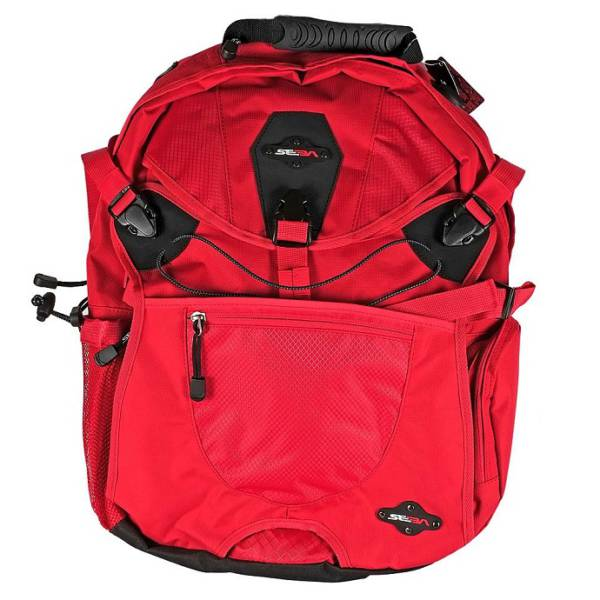 Seba Large Backpack Red