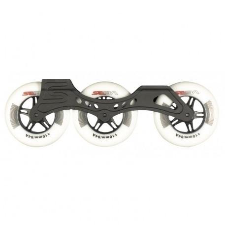 Seba 310 3x110mm frames with wheels