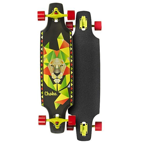 Choke Lion Dropthrough Trick Longboard