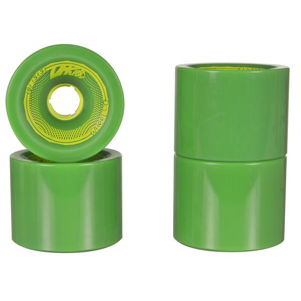 Utuba Speedster Green Longboard Wheels 75x57mm
