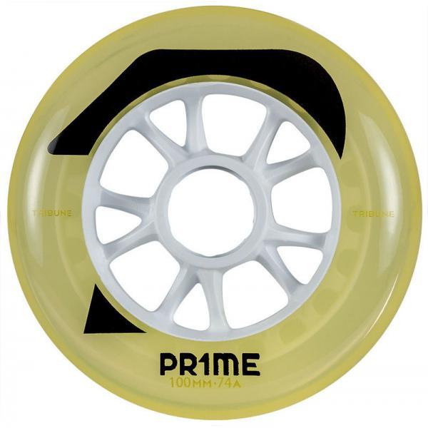 PRIME Tribune Yellow Hockey Wheels 74A 100MM