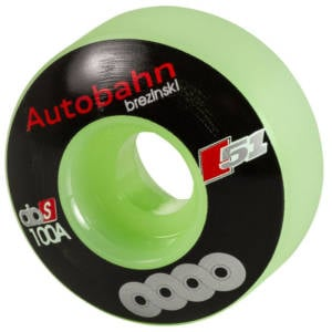 Autobahn Brezinski Union Skateboard Wheels 51mm Glow(4 pack)
