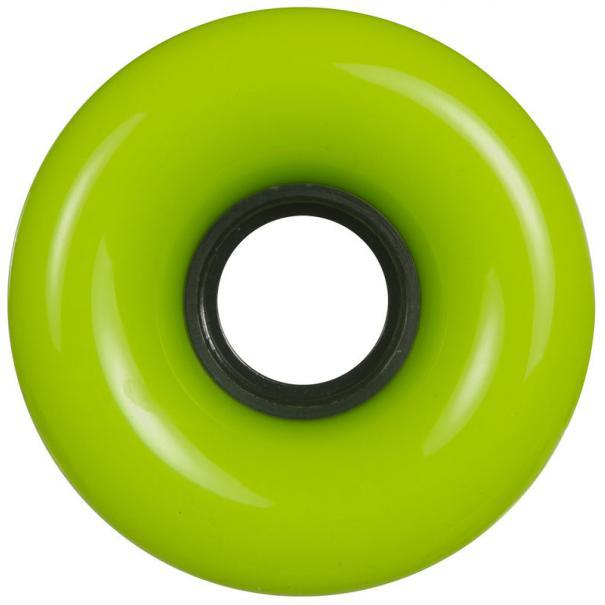 Powerslide Blank Longboard Wheels Green 70x51mm (4 pack)