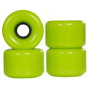 Powerslide Blank Longboard Wheels Green 70x51mm (4 pack)