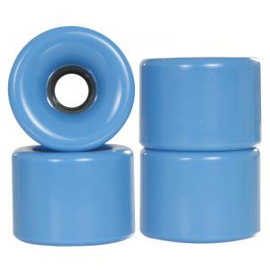 Powerslide Blank Longboard Wheels Blue 70x51mm (4 pack)