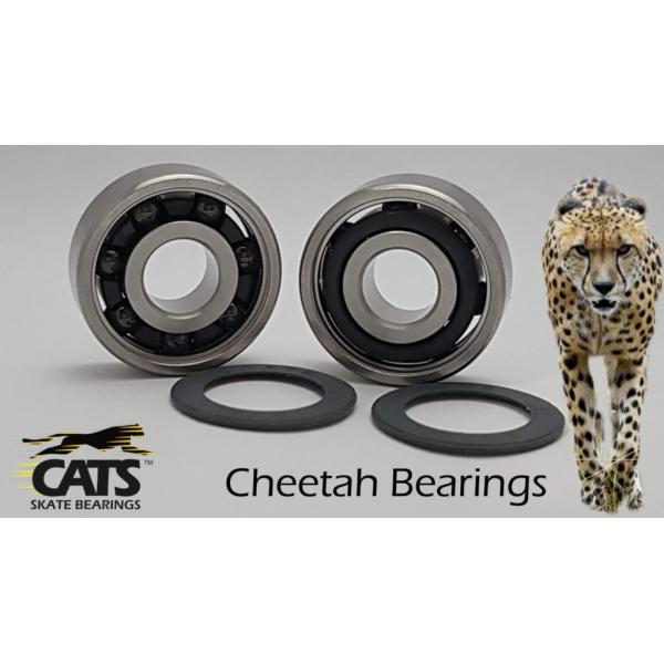 Cats Cheetah Cronidure / Ceramic 608 Speed Competition Bearings Set (16 pack)
