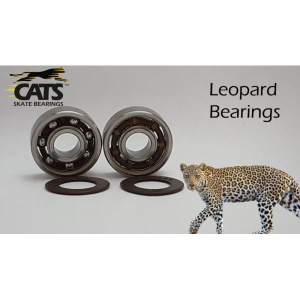 Cats Bearing Leopard 608 Bearings (16 pack)