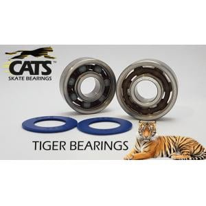 Cats Bearing Tiger Ceramic 608 Bearings (16 pack)