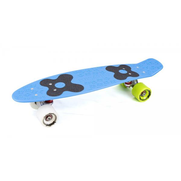 Choke Juicy Susi Classic Cyan Blue Vinyl Skateboard