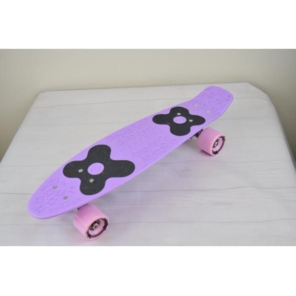 Choke Juicy Susi Classic Pastel Purple Vinyl Skateboard
