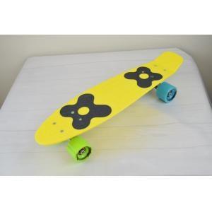 Choke Juicy Susi Classic Yellow Vinyl Skateboard