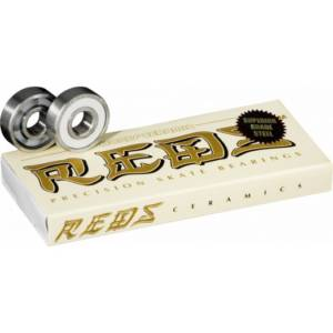 BONES Ceramic Super Reds Skateboard 608 Bearings (8 pack)