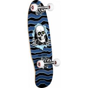 Powell Peralta Micro Ripper Complete Skateboard Blue - 7.5 x 24
