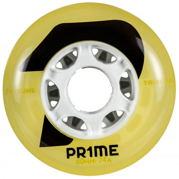 PRIME Tribune Yellow Hockey 80mm 74A (4 PACK)