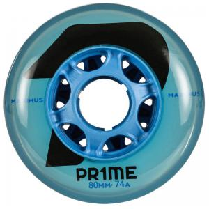 PRIME Maximus Blue Indoor Hockey 80mm 74A (4 PACK)