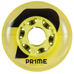 PRIME Maximus Yellow Indoor Hockey 80mm 76A (4 PACK)