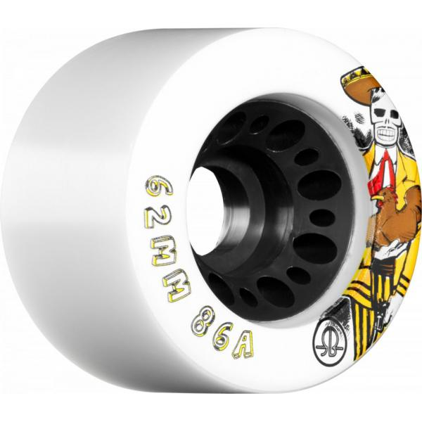Rollerbones Day of the Dead Speed Wheels 62mm 86a