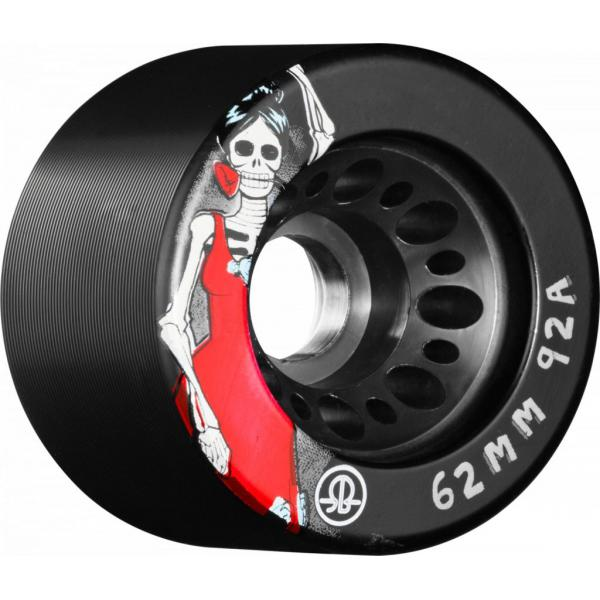 Rollerbones Day of the Dead Speed Wheels 62mm 92a