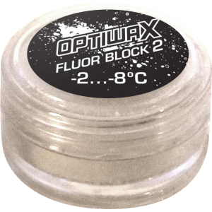 Optiwax Fluor Block 2 -2/-8°C Race