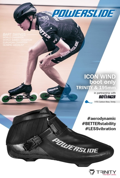 Powerslide Icon Wind Trinity Speed Boot 2018
