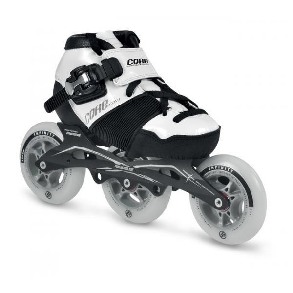 Powerslide Icon Junior Size Adjustable Speed Skates