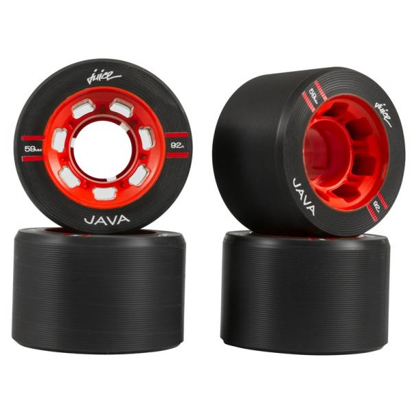 Java Juice Deep Red Derby Wheels 59x38mm 92A