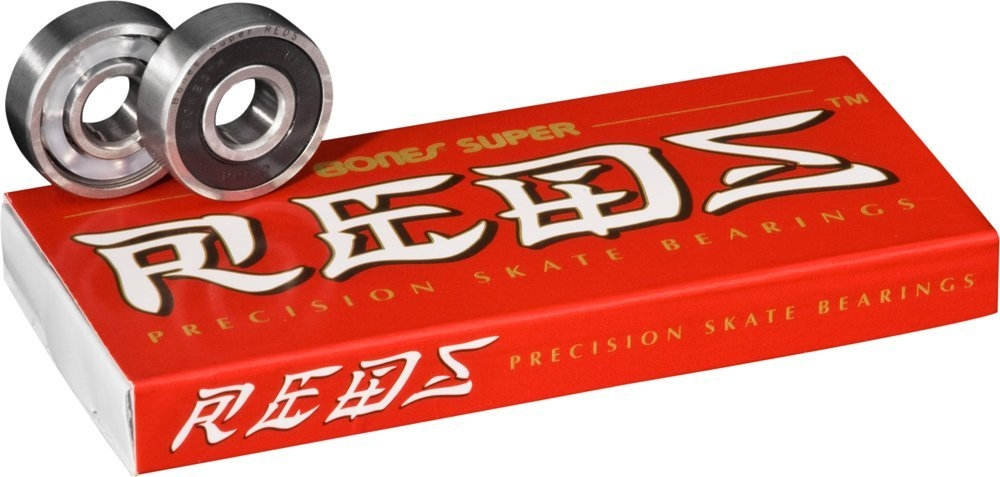 Bones Big Balls Reds 608 Skateboard Bearings /& Bones Speed Cream Bearing Lubricant Pack