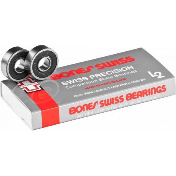 Bones Swiss L2 Bearings (8 pack)
