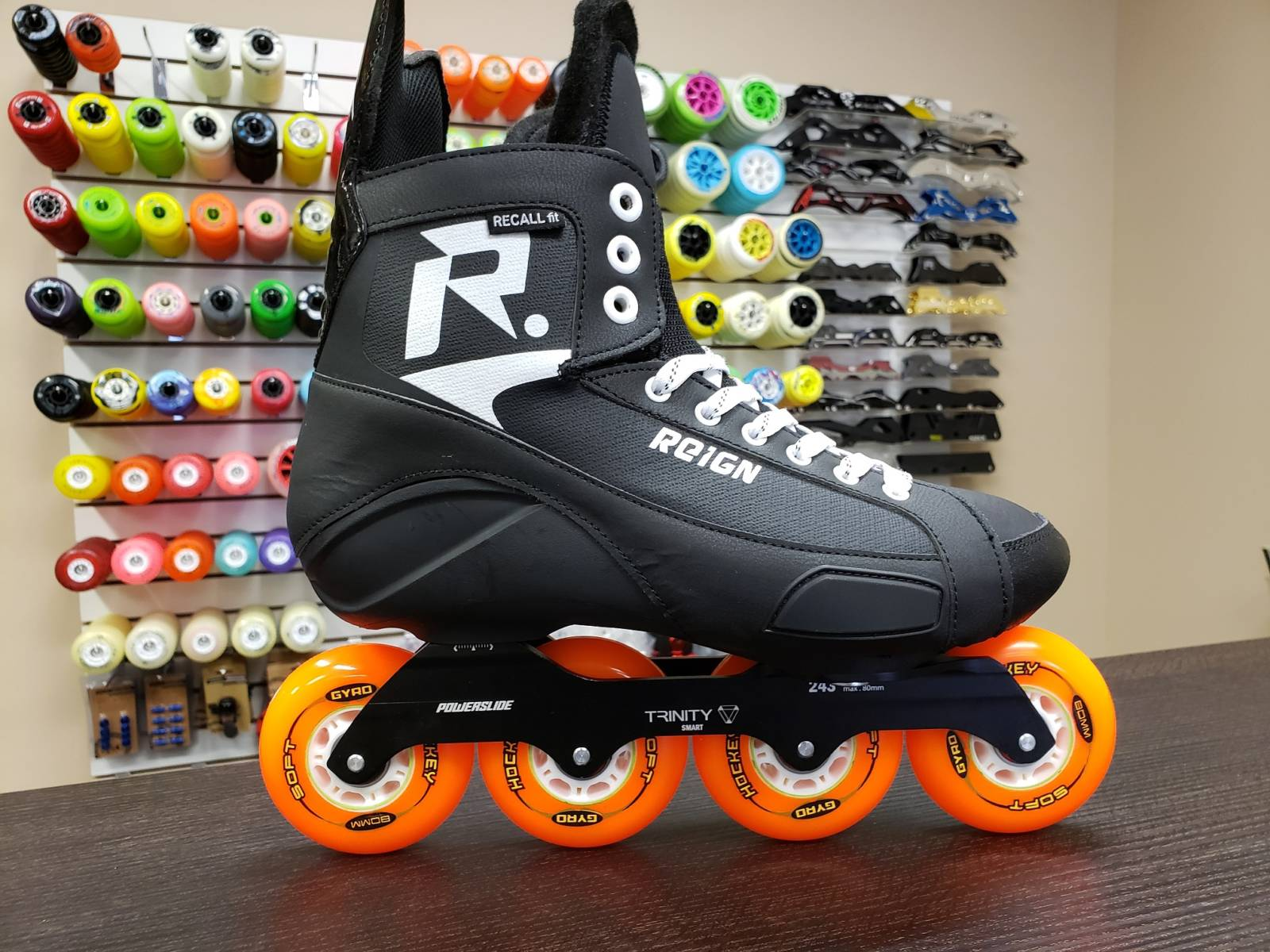 Reign Roller Hockey Apollo Trinity Hi Lo Skates 4x80 3x100